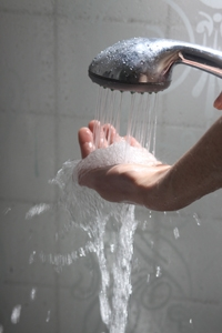 Tackling limescale in your shower