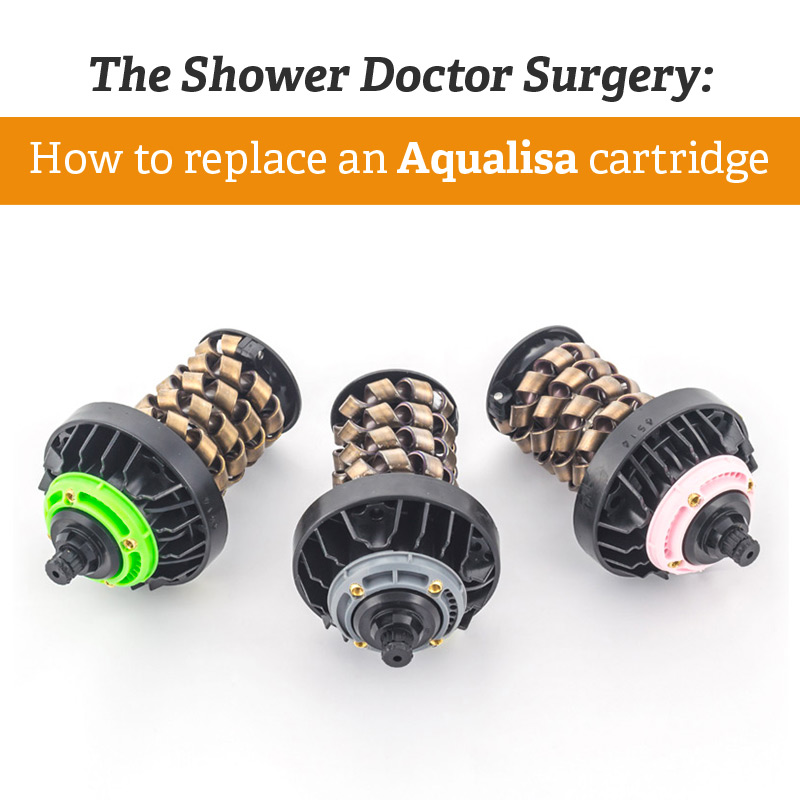 The Shower Doctor Surgery: How to replace an Aqualisa cartridge