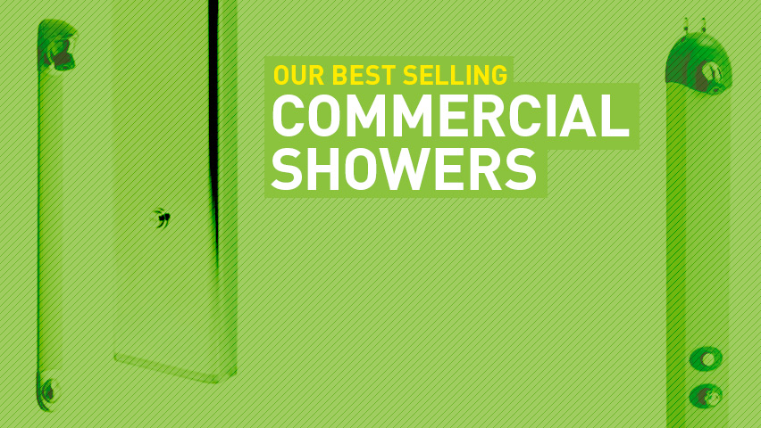 Commercial Showers: Best Sellers from The Shower Doctor