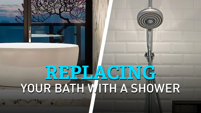 replacing your bath with a shower pros cons and tips