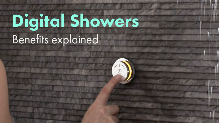 Smart/Digital Showers: The Benefits Explained