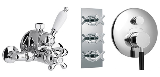 Mixer showers from Vado.
